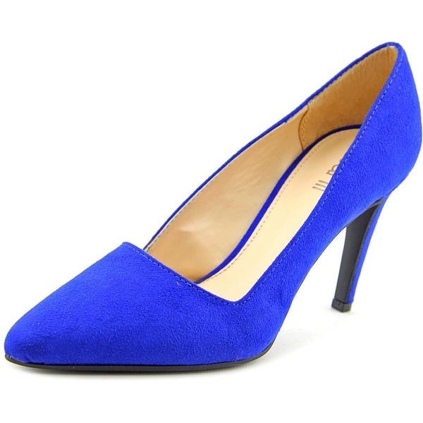 Bar III Joella Women Pointed Toe Synthetic Blue Heels