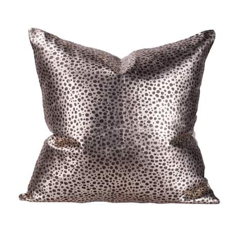 Leopard 16-inch Print Throw Pillow