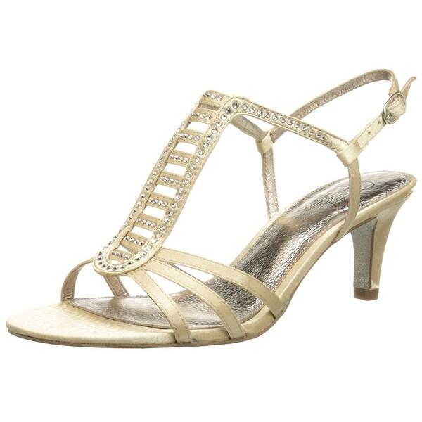 Adrianna Papell Womens Ainsley Satin Open Toe SlingBack Classic Pumps