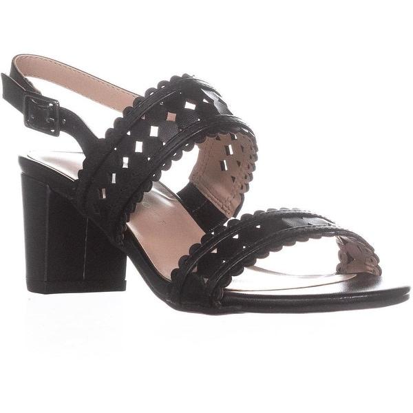KS35 Dabby Sling-Back Dress Sandals, Black - 5 us