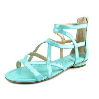 Marc Fisher Bambi Women Open Toe Synthetic Blue Gladiator Sandal
