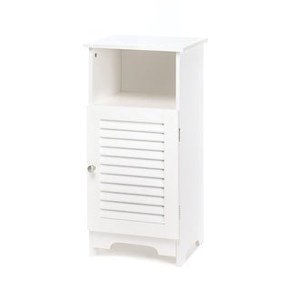 Nantucket White Storage Cabinet