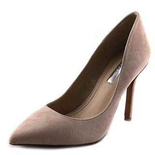 BCBGeneration Treasure Women Pointed Toe Suede Pink Heels