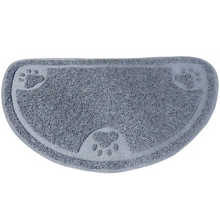 Link to Evelots Cat Litter Trap/Feeding Mat-Catch Litter/Food-NO Mess-Non Skid-Spongy Similar Items in Dog Feeders & Waterers