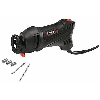 RotoZip SS355-10 RotoSaw Corded Spiral Saw Kit, 5.5 Amp, 30000 RPM