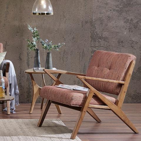 Carson Carrington Rapina Orange Lounge Chair