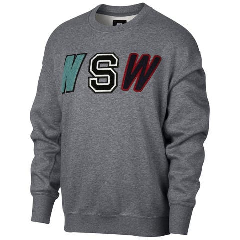 Nike Mens Pullover Sweater Fleece Embroidered - XXL