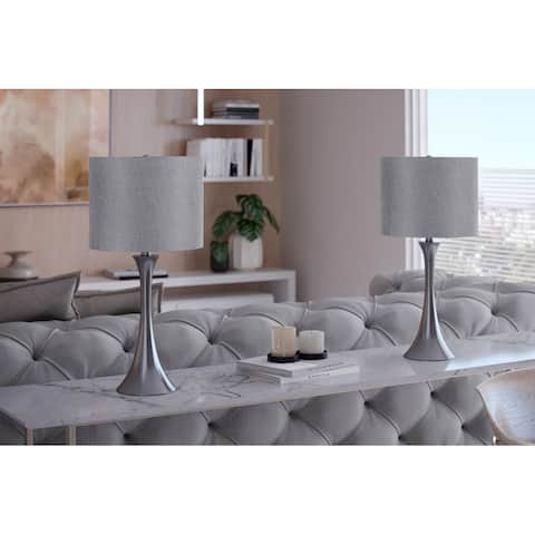 Porch & Den Bakkom 24.25-inch Table Lamp Set