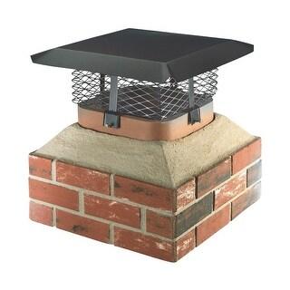 Shelter Black Chimney Cover