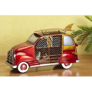 Deco Breeze DBF0272 9 Inch Woody Car Decorative Table Fan - multi