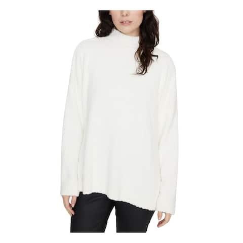 SANCTUARY Womens Ivory Long Sleeve Turtle Neck Sweater Size M
