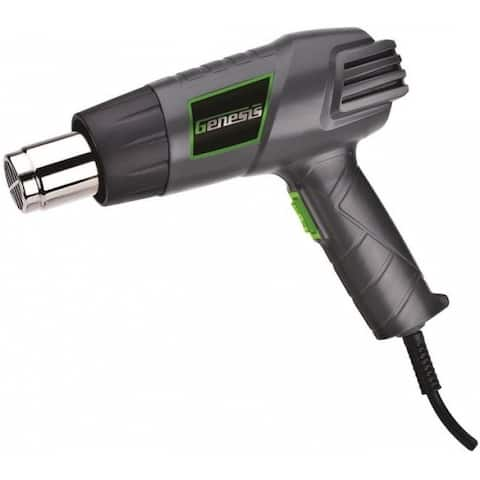 Genesis GHG1500A Dual-Temperature Heat Gun, 12.5 Amp