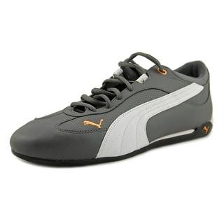Puma Jonas Men Round Toe Leather Gray Sneakers