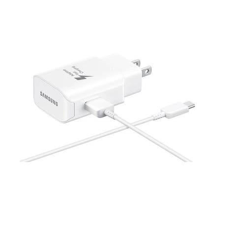 Samsung 25W USB-C Adaptive Fast Wall Charger Detachable Cable - White