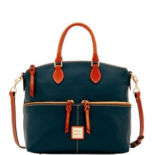 Dooney & Bourke Pebble Grain Double Pocket Satchel (Introduced by Dooney & Bourke at $248 in May 2017)