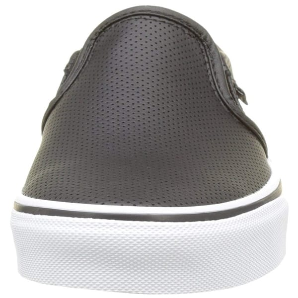 outlet store sale sold worldwide great fit Shop Vans Asher, Womens Trainers, Black(Black(Perf Leather ...