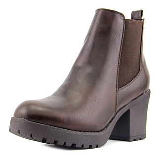 Refresh CLUB-01 Round Toe Synthetic Ankle Boot