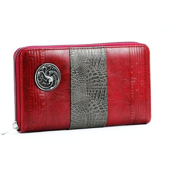 Game of Thrones House Targaryen Ladies Wallet - Multi