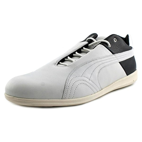 Puma Future Cat SF Premium 10 Men Round Toe Leather Gray Sneakers