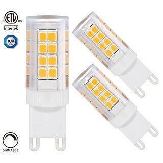 1 PACK/3 PACK 3.5W Dimmable G9 Base LED Bulb, ETL Listed, 350lm, 360° Omni Beam Angle, 2700K/5000K
