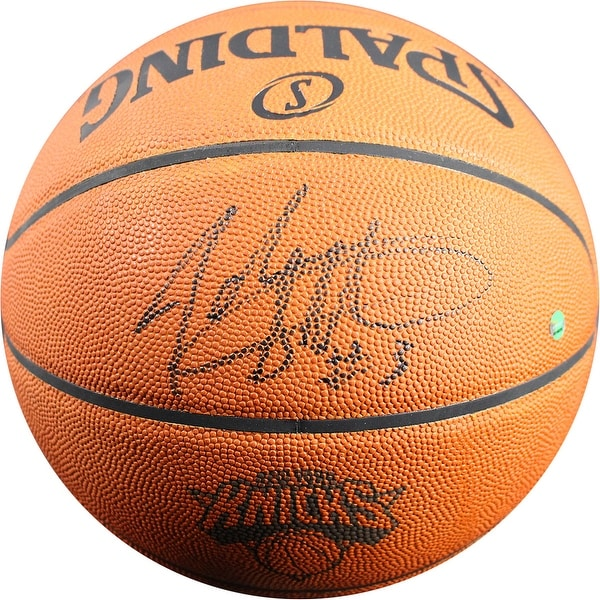 b397890ef Shop John Starks New York Knicks 90s Logo Official Basketball - Free  Shipping Today - Overstock - 14305335