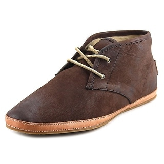 Frye Tegan Chukka-Bufnu Round Toe Leather Chukka Boot