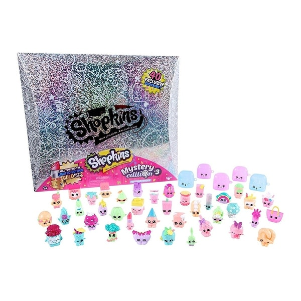 Shopkins Mystery Edition 30 Silver Box Exclustive Limited Set