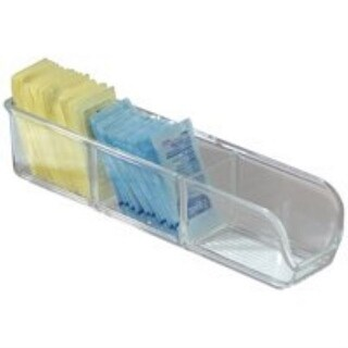 InterDesign 66730 Linus Sugar Packet Place, Large, Clear