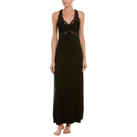 Fleur't Lace Bodice Nightgown