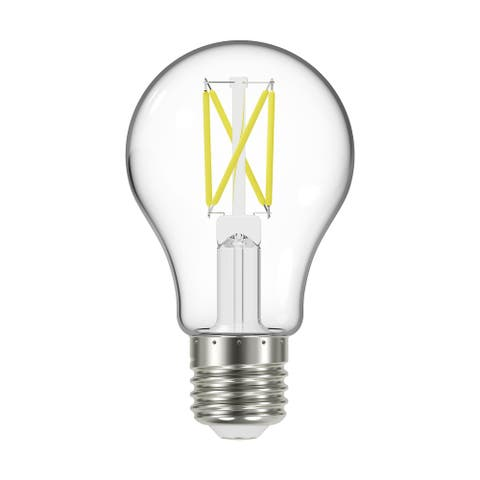 5 Watt LED A19 Clear Medium Base 2700K 90 CRI 120 Volt - N/A