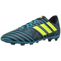 Adidas Unisex Nemeziz 17.4 Fxg J, Legend Ink/Solar Yellow/Energy Blue