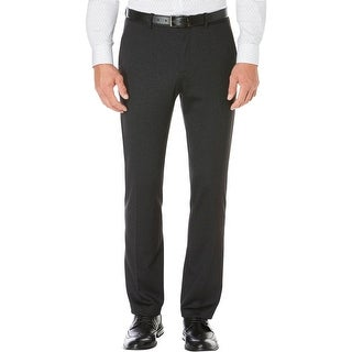 Perry Ellis Mens Dress Pants Twill Slim Fit
