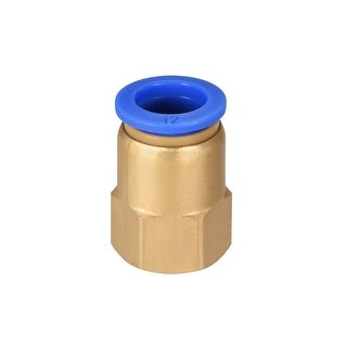 "3/8"" G Female Straight Thread 12mm Push In Joint Pneumatic Quick Fittings - 3/8"" G x 12mm"