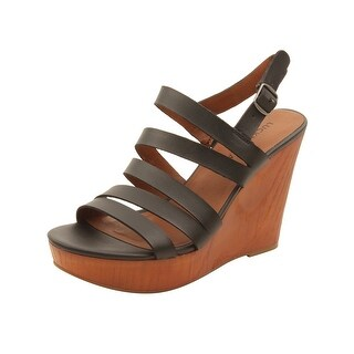 Lucky Brand Womens Larinaa Wedges in Black