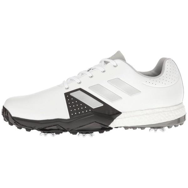 pretty nice 3b3f1 d4843 Adidas Menx27s Adipower Boost 3 WhiteSilver MetallicBlack Golf