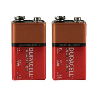 """""""Battery for Duracell QU1604 (2-Pack) Replacement Battery"""""""