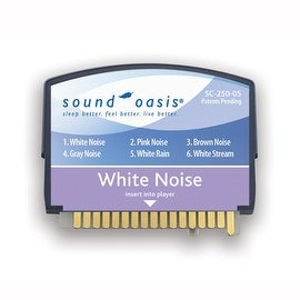 White Noise Therapy Sound Card 250-05 By Sound Oasis