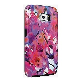 Milk and Honey Designer Case for Samsung Galaxy S6 - Abstract Floral Pink