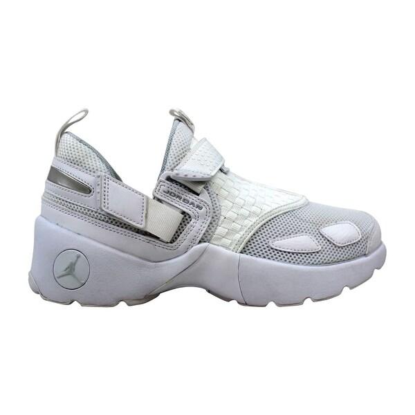 f8ec8cea3fe157 Nike Air Jordan Trunner LX BG White Pure Platinum Grade-School 897996-100