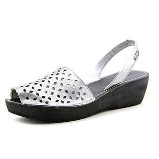 Kenneth Cole Reaction Fine Glass 2 Women Synthetic Silver Slingback Sandal