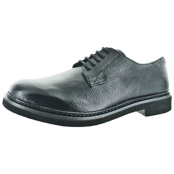 Geox Damocle Men's Lace-Up Leather Oxford Dress Shoes
