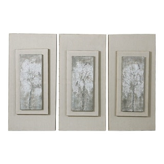 """Link to Uttermost 41426 36"""" x 17"""" Triptych Trees Three Panel Framed - Brown Wash Similar Items in Art Prints"""