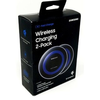 Samsung 2 Pack Blue Wireless Charging Pad Wireless Charging Pad