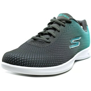 Skechers Go Step Lite Interstellar Women Round Toe Synthetic Gray Walking Shoe