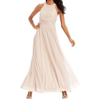 Jessica Howard Womens Evening Dress Lace Embellished