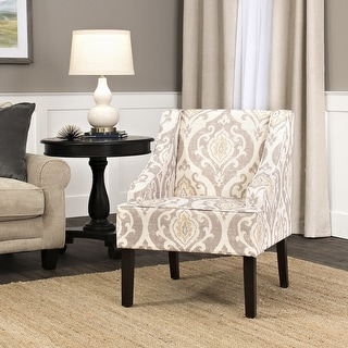 Link to Porch & Den Lyric Swoop Arm Accent Chair Similar Items in Living Room Chairs