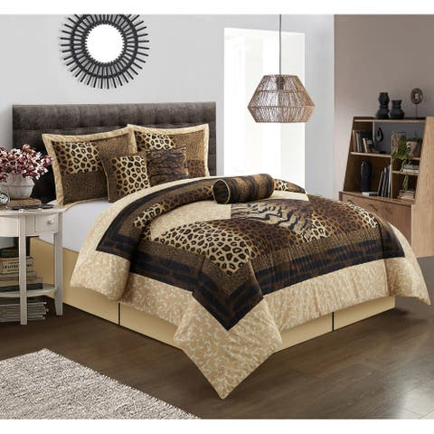 Grand Avenue Africa 7-Piece Comforter Set