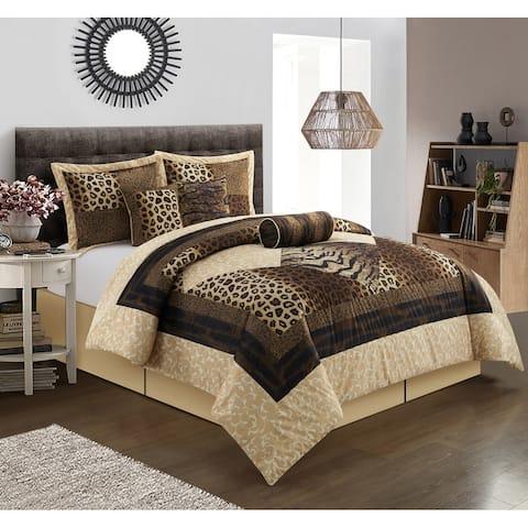 Grand Avenue Africa 7-Piece Comforter Set