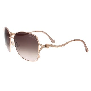 Roberto Cavalli RC887S 34F Meissa Rose Gold Aviator Sunglasses - 59-16-130