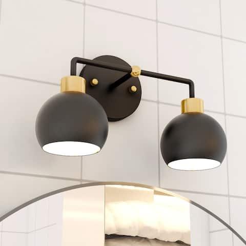 Glow's Avenue 2-Light Dimmable Bathroom Vanity Light - N/A